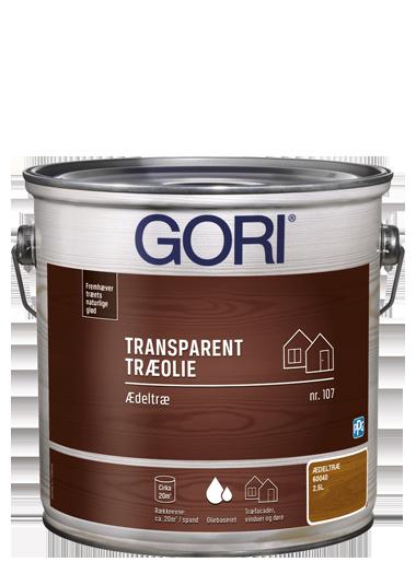 GORI Transparent Træolie 107
