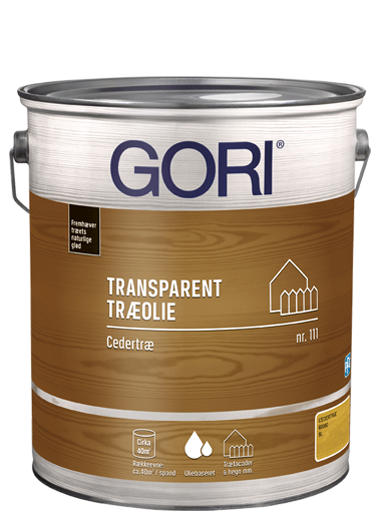 GORI Transparent Træolie 111